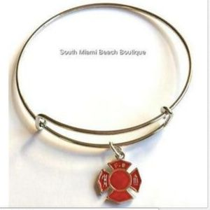 Jewelry - Fire Rescue Fighter EMT EMS Paramedic Bracelet